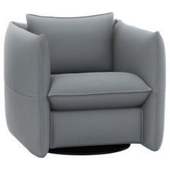 Vitra Mariposa Club Armchair in Dolphin/Steel Blue by Edward Barber & Jay Osgerb