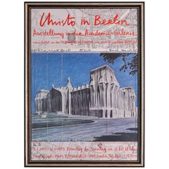 Vintage Exhibition Poster by Christo