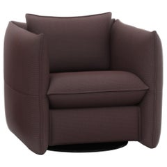 Vitra Mariposa Club Armchair in Bitter Chocolate by Edward Barber & Jay Osgerby