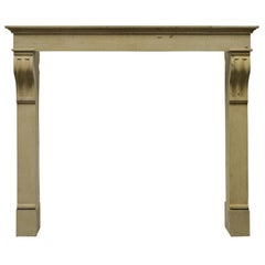 Tall Antique Fireplace Mantel from France