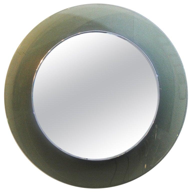 Round Mirror by Fontana Arte, Italy, 1970s