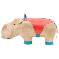 1970s High-Quality Children Toy 'Hippo' by German Renate Müller 'c'