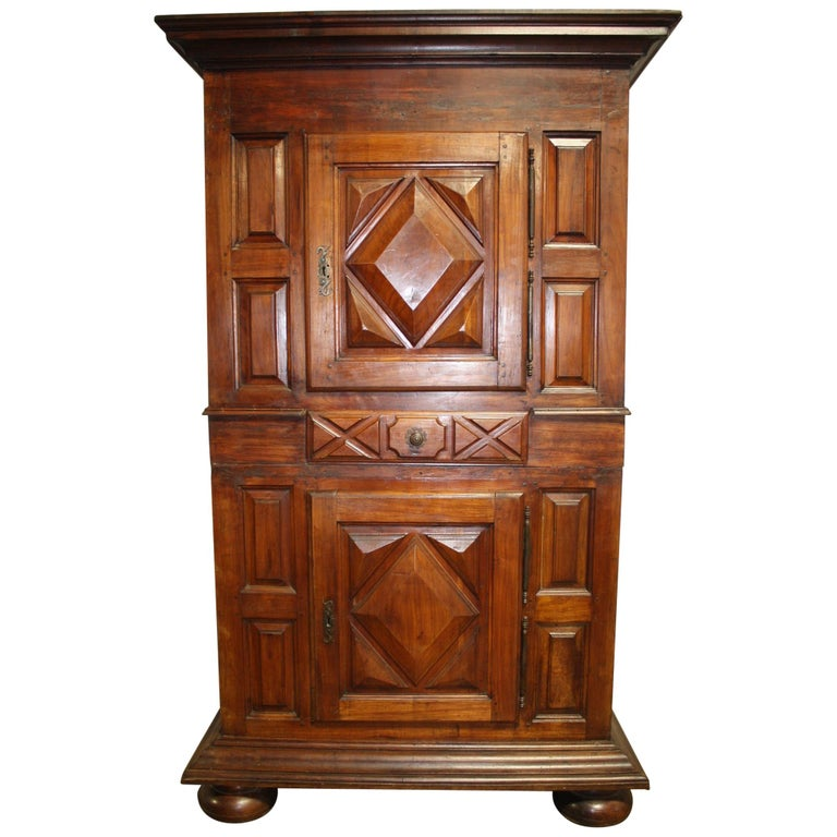 """French 18th Century Cabinet """"Deux Corps"""" For Sale"""