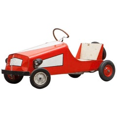 1960s High-Quality Pedal Car Made in West Germany