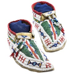 Buffalo Hide Sioux Moccasins