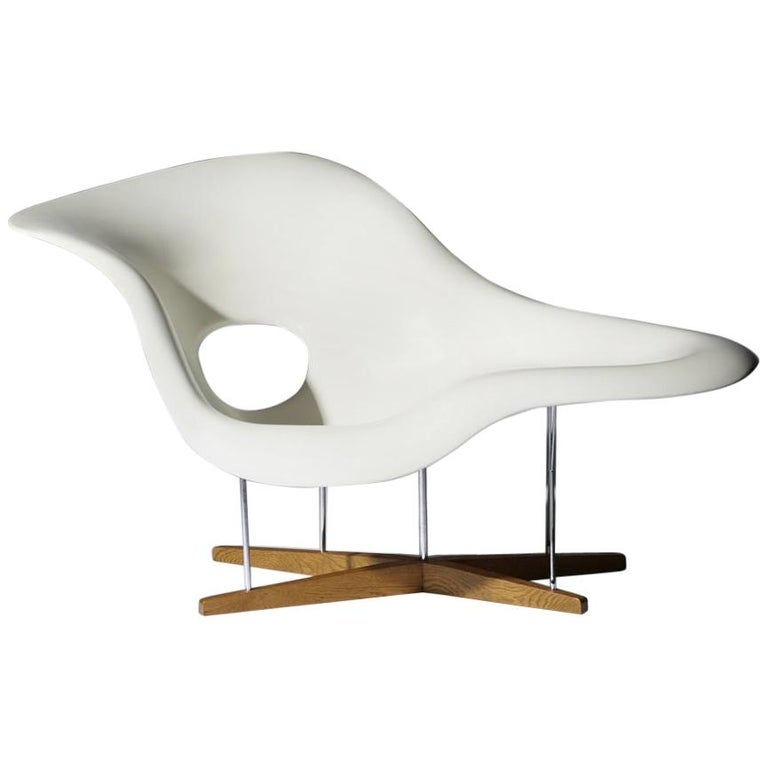 Charles and Ray Eames Chaise For Sale