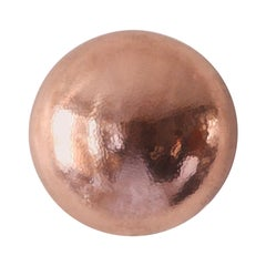 Cobre Collection, Conchita, Hammered Copper Sconce, Size B