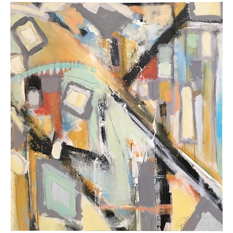 Abstract Painting by Ken Ohmert For Sale