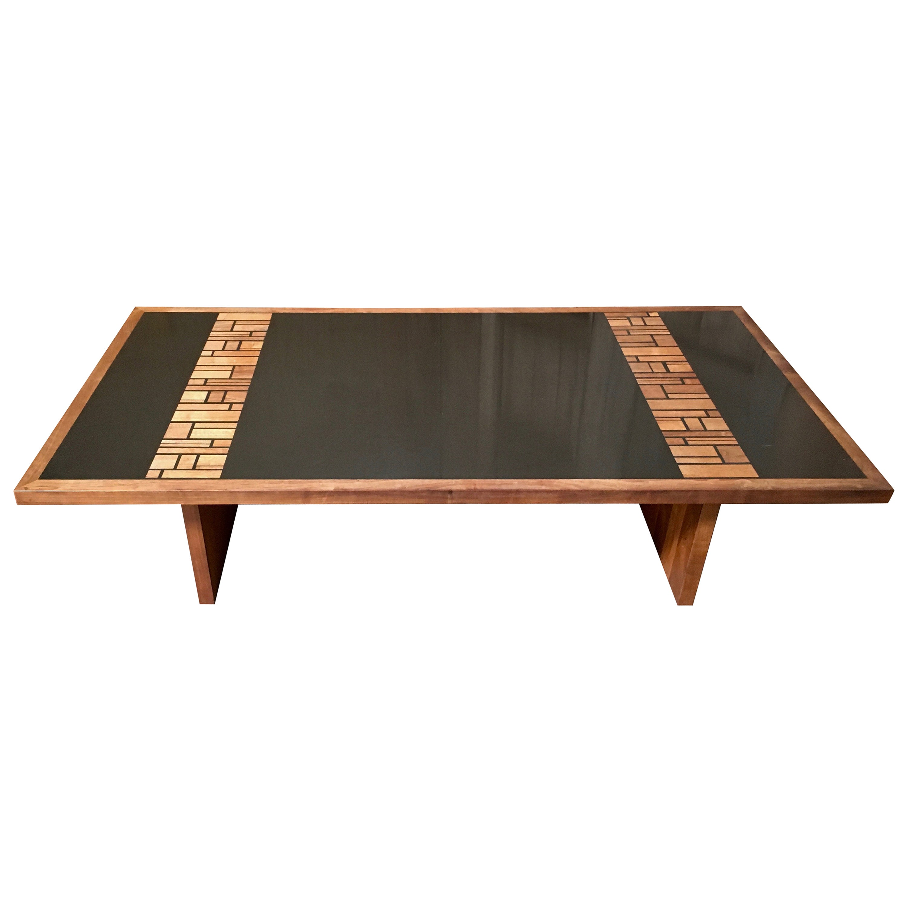 California modern coffee table by frank rohloff for sale at 1stdibs