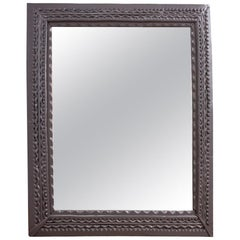 Antique Carved Mirror, circa 1900s