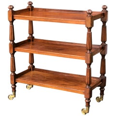 English Trolley or Console Server of Mahogany