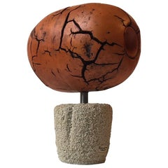 Scrap Sculpture of Brain by Danish Skagen Artist Poul Winther