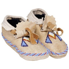 Flathead Child's Moccasins