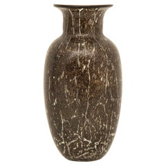 Midcentury Vase Signed Barovier and Toso for Murano