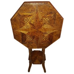 New Zealand Specimen Wood Table by William Norrie, circa 1900