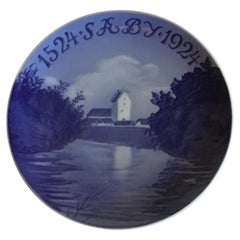 Royal Copenhagen Commemorative Plate from 1924 RC-CM225