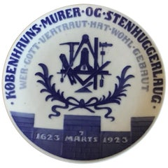 Royal Copenhagen Commemorative Plate from 1923 RC-CM214