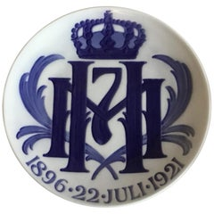 Royal Copenhagen Commemorative Plate from 1921 RC-CM199