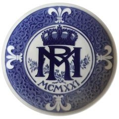 Royal Copenhagen Commemorative Plate from 1921 RC-CM200