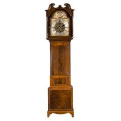 19th Century Eight Day Longcase Clock by Peter Miller, Alloa