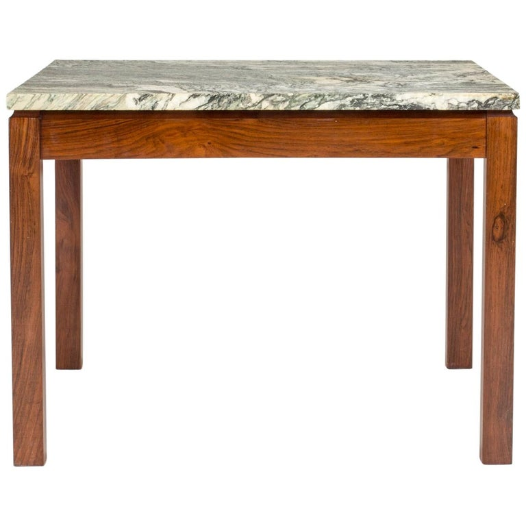 Mid-Century Modern Danish Marble Table For Sale