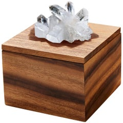 Bosque Box in Bosque Wood and Crystal by Anna Rabinowitz
