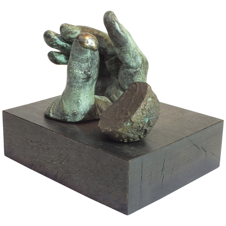 Digilith, Bronze Sculpture