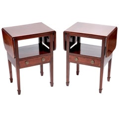 Quality Pair of Mahogany Bed Side Tables