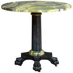 Irish Connemara & Kilkenny Marble Table, circa 1830