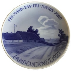 Royal Copenhagen Commemorative Plate from 1927 RC-CM248