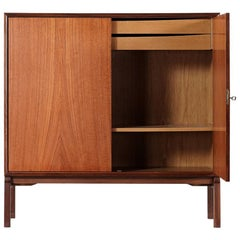 Teak Sideboard, Denmark 1965 Chest Arne Vodder like Drawers Midcenturymodern