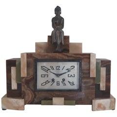 Art Deco Clock, France, circa 1925