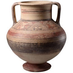 Ancient Cypriot Archaic Amphora, 750 BC
