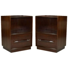 Pair of T.H. Robsjohn-Gibbings Nightstands