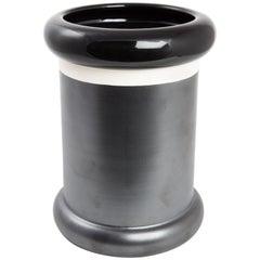 SOTTSASS Bitossi Cylinder Vase Ceramic