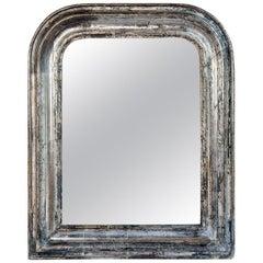 Silver Leaf Mirror with Original Mirror