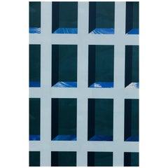 View Cobalt Wash Wallpaper with Dusky Blue, Deep Cobalt, and Dark Indigo Colors
