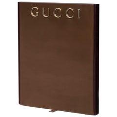 Große Gucci-Werbung-Display-Ständer