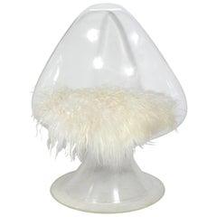 Sculptural Lucite Chair by Laverne Originals