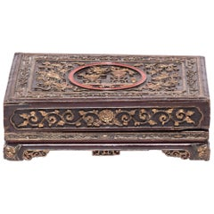 19th Century Chinese Eternal Love Offering Box