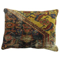 Antique Persian Shabby Chic Rug Pillow