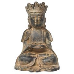 Antique Bronze Earth Buddha