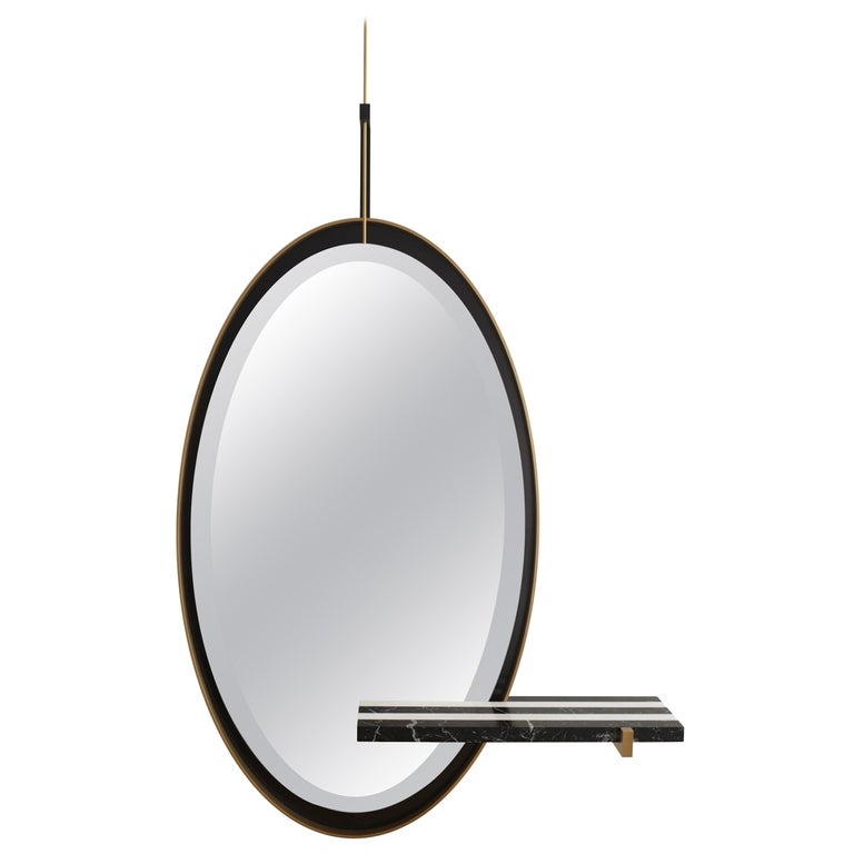 'Ellipse' Mirror by Isabelle Stanislas For Sale