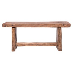 Provincial Reclaimed Chinese Elm Bench