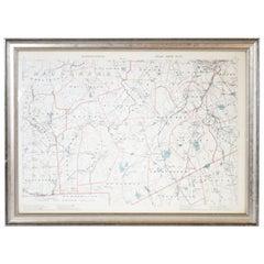 1891 Map of Norfolk County Massachusetts