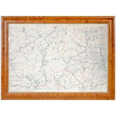 Original 1891 Walker Map