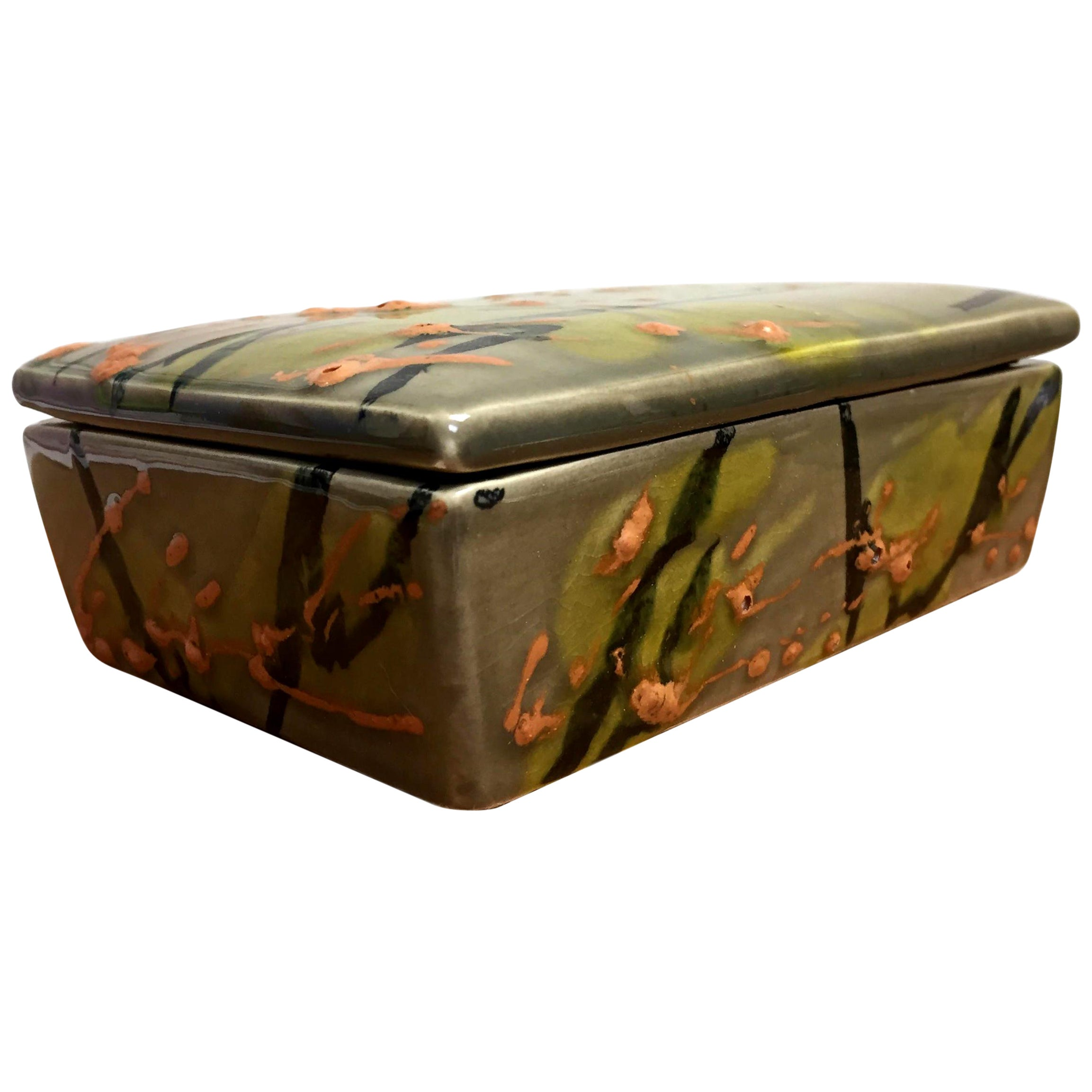Raymor Ceramic Drip Glaze Box