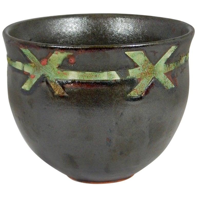 Buttonwood Ceramic Vessel by Andrew Wilder, 2018