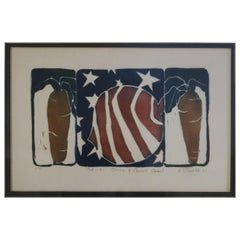 Americana Lithograph by D, Wieditz