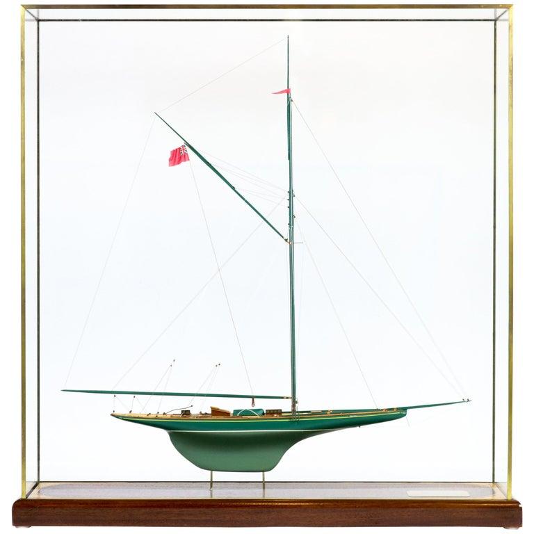 Cased Model of Shamrock II